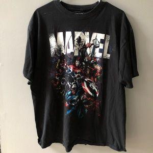 Marvel t-shirt men's XL